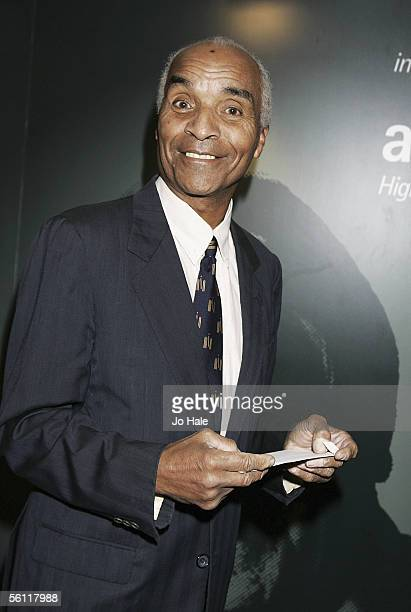Actor Kenny Lynch attends the Music Industry Trust Awards 2005 on November 7 2005 in London England Michael Parkinson is the 2005 recipient of the...