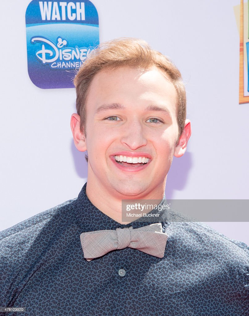 Actor Kent Boyd attends the premiere of Disney Channel's 'Teen Beach 2' at Walt Disney Studios on June 22, 2015 in Burbank, California.
