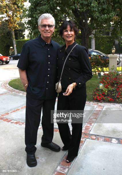 Actor Kent McCord and his wife Cynthia attend 'SAG' event 'Meet the Candidates' hosted by Nancy Sinatra on August 13 2009 in Beverly Hills California