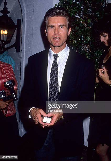 Actor Kent McCord attends Stephen J Cannell Productions' 10th Anniversary Celebration on July 10 1989 at Chasen's Restaurant in Beverly Hills...