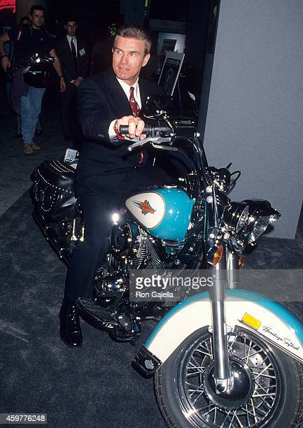 Actor Kent McCord attends the 32nd Annual National Association of Television Program Executives Convention and Exhibition on January 24 1995 at the...