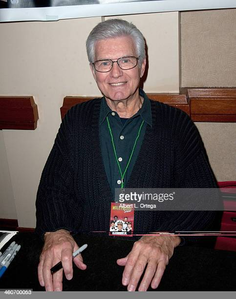 Actor Kent McCord attends The Hollywood Show at Lowes Hollywood Hotel on January 4 2014 in Hollywood California