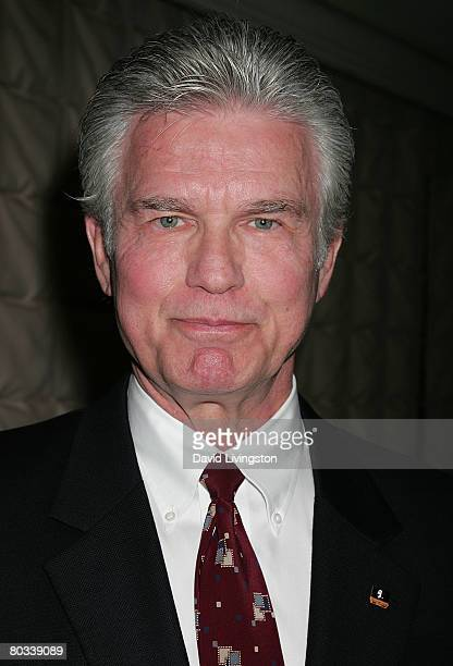 Actor Kent McCord attends the Pacific Pioneer Broadcasters luncheon honoring Ed Asner at the Sportsmen's Lodge on March 21 2008 in Studio City...