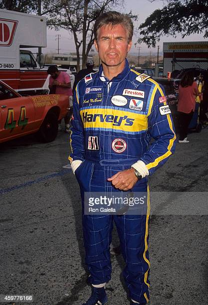 Actor Kent McCord attends the Second Annual Reid Rondell Stunt Foundation's Enduro 100 Stock Car Race on October 6 1990 at Saugus Speedway in Saugus...