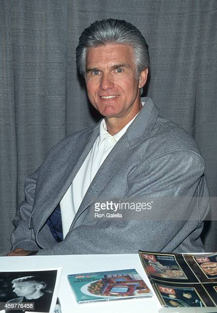 Actor Kent McCord attends 'The Sixties Show Rock Pop Peace' Convention to Celebrate the Music Art and Design of the 60's on April 11 1997 at the...