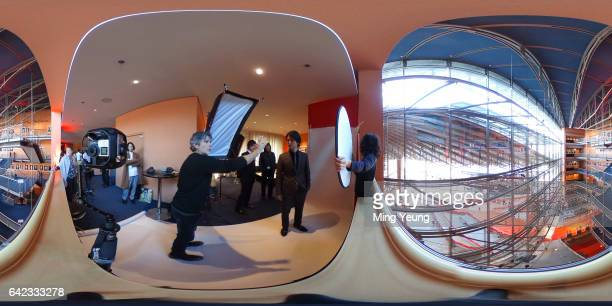 Actor Kenta Kiritani has his photo taken by Contour Photographer Riccardo Ghilardi for 'CloseKnit' during the 66th Berlinale International Film...