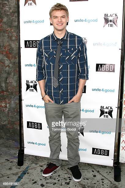 Actor Kenton Duty attends the Black Tie Emporium launch party held at ADBD on June 3 2014 in Los Angeles California