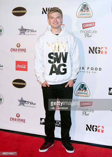 Actor Kenton Duty Heit arrives at Disney Star Ryan Ochoa's 'Swagged Out' 18th Birthday Party at Avalon on June 1 2014 in Hollywood California