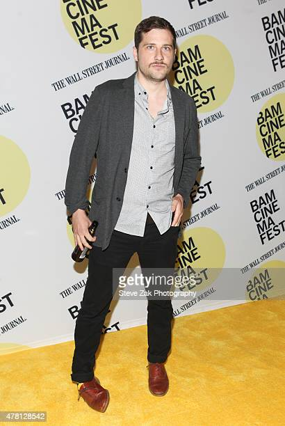 """Actor Kentucker Audley attends """"Queen Of Earth"""" premiere at BAMcinemaFest 2015 at BAM Peter Jay Sharp Building on June 22, 2015 in New York City."""