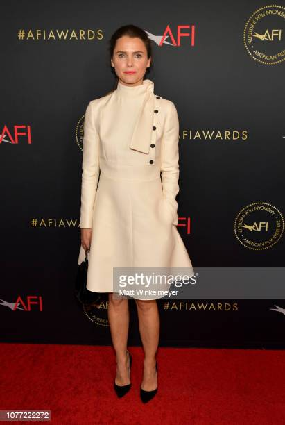 Actor Keri Russell attends the 19th Annual AFI Awards at Four Seasons Hotel Los Angeles at Beverly Hills on January 4, 2019 in Los Angeles,...