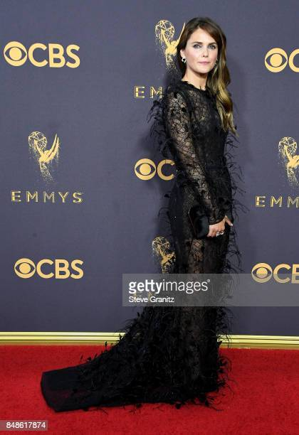 Actor Keri Russell attends the 69th Annual Primetime Emmy Awards at Microsoft Theater on September 17 2017 in Los Angeles California