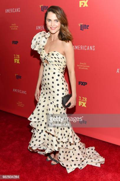 Actor Keri Russell attends The Americans Season 6 Premiere at Alice Tully Hall Lincoln Center on March 16 2018 in New York City