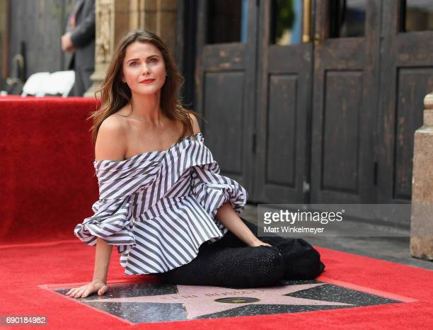 Actor Keri Russell is honored with Star on The Hollywood Walk of Fame on May 30 2017 in Hollywood California