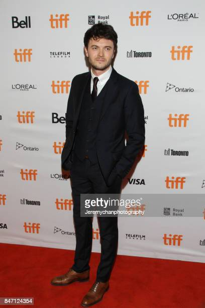 Actor Kerr Logan attends the 'Alias Grace' Premiere held at Winter Garden Theatre during the 2017 Toronto International Film Festival on September 14...