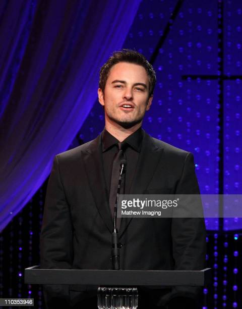 Actor Kerr Smith at The Beverly Hilton hotel on February 13 2010 in Beverly Hills California