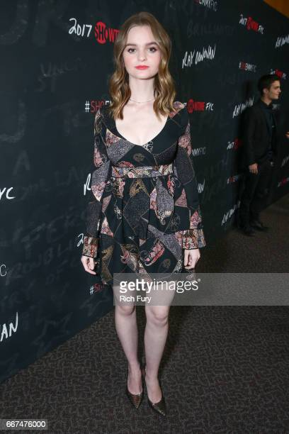 Actor Kerris Dorsey attends Showtime's 'Ray Donovan' season 4 FYC event at the DGA Theater on April 11 2017 in Los Angeles California