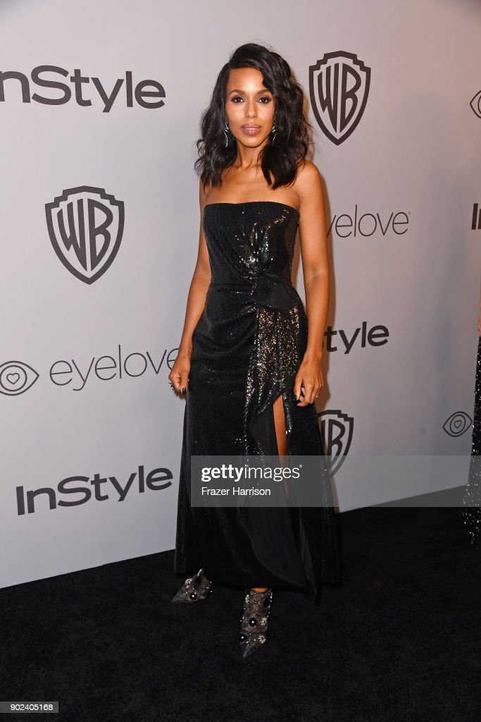 Actor Kerry Washington attends 19th Annual Post-Golden Globes Party hosted by Warner Bros. Pictures and InStyle at The Beverly Hilton Hotel on January 7, 2018 in Beverly Hills, California.
