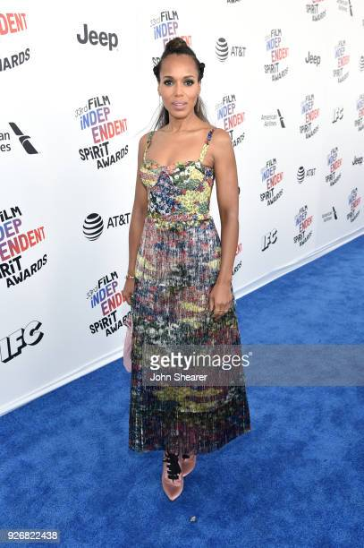 Actor Kerry Washington attends the 2018 Film Independent Spirit Awards on March 3, 2018 in Santa Monica, California.
