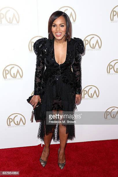 Actor Kerry Washington attends the 28th Annual Producers Guild Awards at The Beverly Hilton Hotel on January 28 2017 in Beverly Hills California