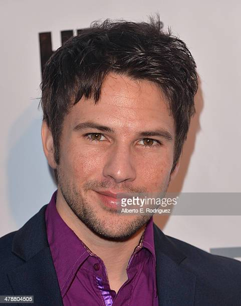 """Actor Kevin Allesee arrives to the Outfest Fusion LGBT People of Color Film Fetival Opening Night Screening of """"Blackbird"""" at the Egyptian Theatre on..."""