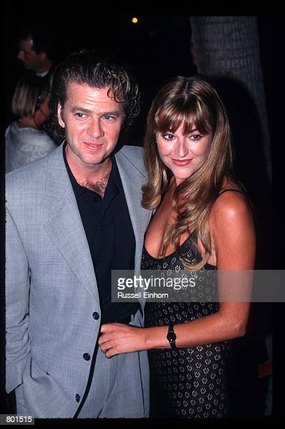 "Actor Kevin Anderson stands with a date at the premiere of the film ""A Thousand Acres"" September 15, 1997 in Los Angeles, CA. ""A Thousand Acres"" was..."