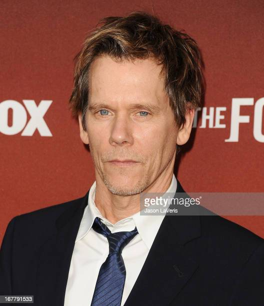 Actor Kevin Bacon attends a screening and QA of The Following at Leonard H Goldenson Theatre on April 29 2013 in North Hollywood California