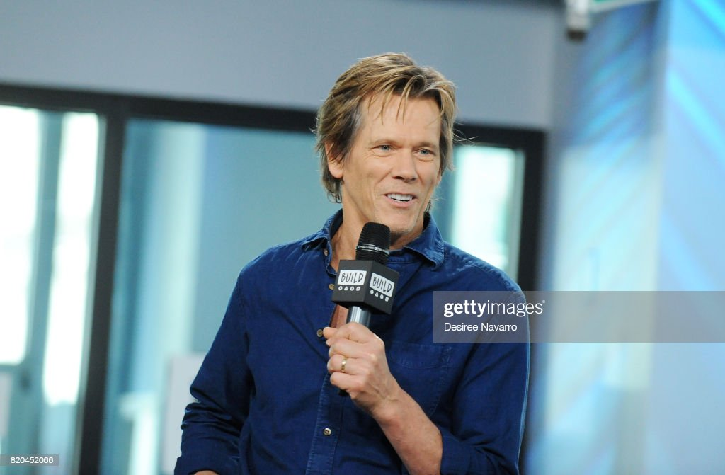 Actor Kevin Bacon attends Build previewing the new Lifetime film 'Story of a Girl' at Build Studio on July 21, 2017 in New York City.