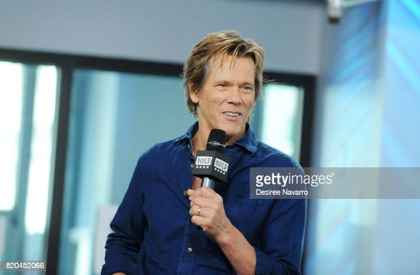 Actor Kevin Bacon attends Build previewing the new Lifetime film 'Story of a Girl' at Build Studio on July 21 2017 in New York City
