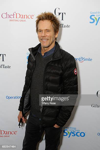 Actor Kevin Bacon attends ChefDance and Operation Smile on January 23 2017 in Park City Utah