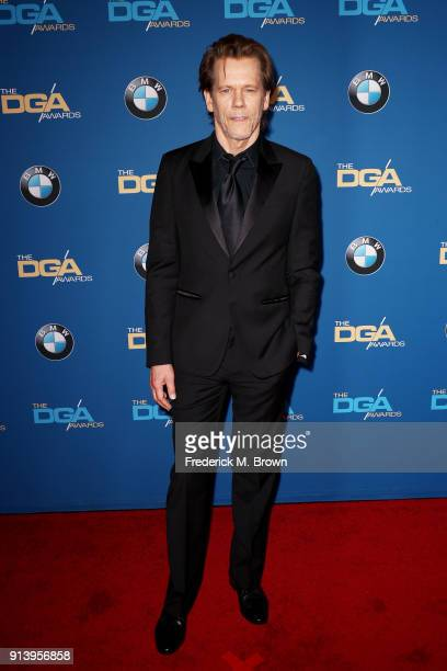 Actor Kevin Bacon attends the 70th Annual Directors Guild Of America Awards at The Beverly Hilton Hotel on February 3 2018 in Beverly Hills California