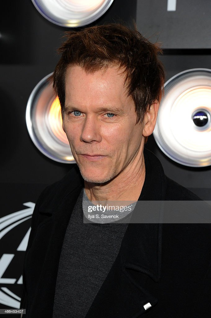 Actor Kevin Bacon attends the Bud Light Hotel on February 1, 2014 in New York City.