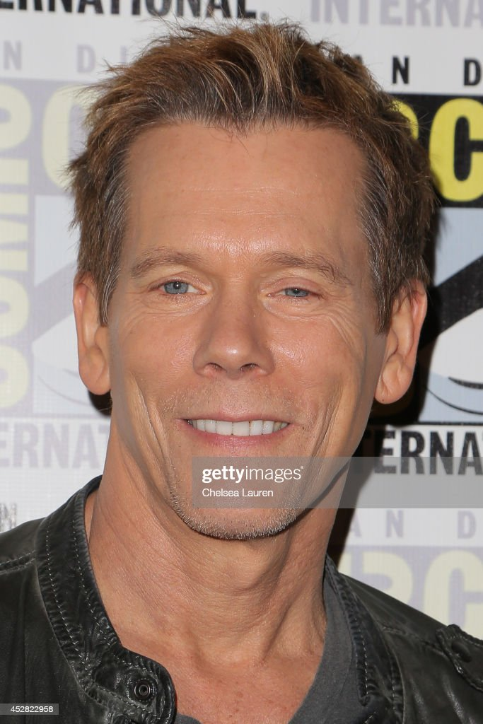 Actor Kevin Bacon attends 'The Following' press line at Comic-Con International on July 27, 2014 in San Diego, California.