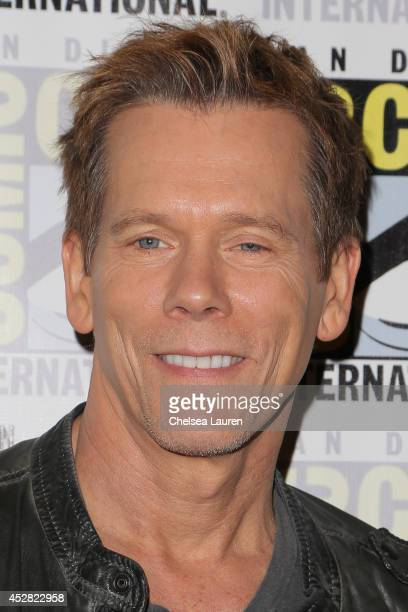 Actor Kevin Bacon attends 'The Following' press line at ComicCon International on July 27 2014 in San Diego California