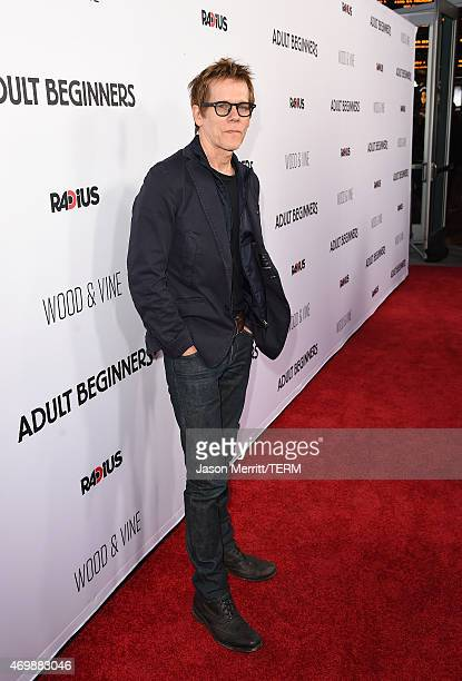 Actor Kevin Bacon attends the premiere of 'Adult Beginners' at ArcLight Hollywood on April 15 2015 in Hollywood California