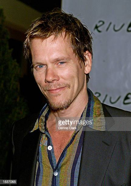 Actor Kevin Bacon attends the Riverkeeper dinner April 22 2002 at Pier 60 of the Chelsea Piers in New York City