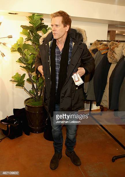 Actor Kevin Bacon attends the The Variety Studio At Sundance Presented By Dockers on January 24 2015 in Park City Utah
