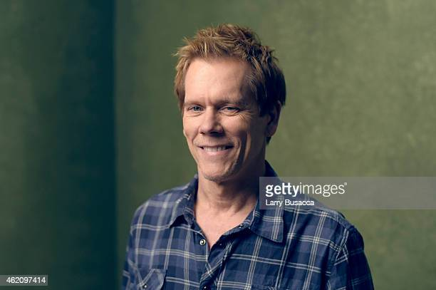 Actor Kevin Bacon from Cop Car poses for a portrait at the Village at the Lift Presented by McDonald's McCafe during the 2015 Sundance Film Festival...