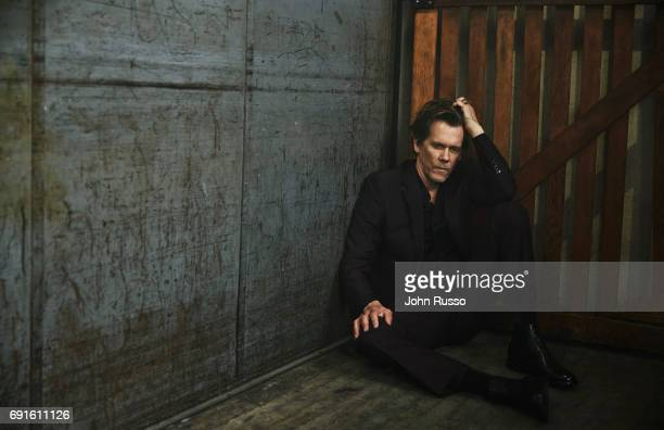 Actor Kevin Bacon is photographed for Self Assignment on May 16 2017 in Los Angeles California