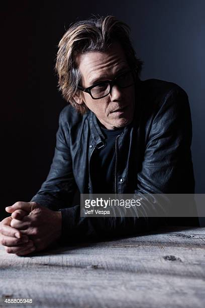 Actor Kevin Bacon of 'Black Mass' poses for a portrait at the 2015 Toronto Film Festival at the TIFF Bell Lightbox on September 14 2015 in Toronto...