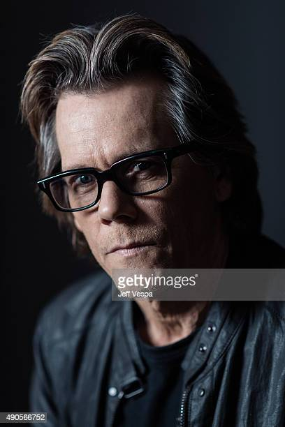 Actor Kevin Bacon of 'Black Mass' poses for a portrait at the 2015 Toronto Film Festival at the TIFF Bell Lightbox on September 15 2015 in Toronto...