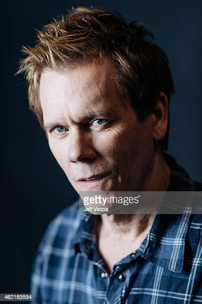 Actor Kevin Bacon poses for a portrait at the 2015 Sundance Film Festival on January 24 2015 in Park City Utah