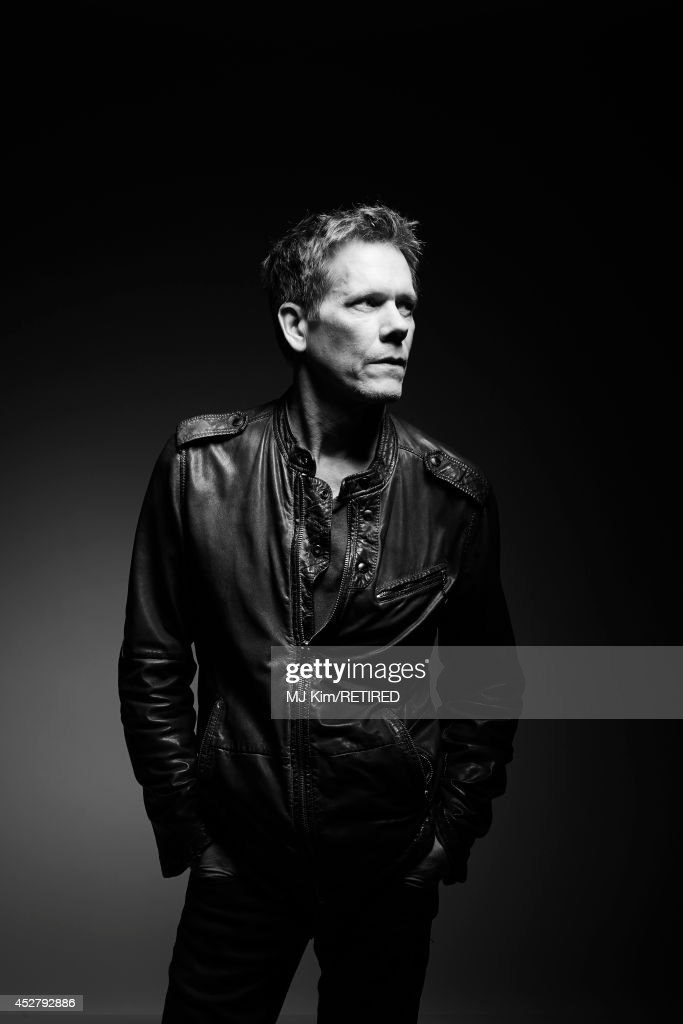 Actor Kevin Bacon poses for a portrait at the Getty Images Portrait Studio Powered By Samsung Galaxy at Comic-Con International 2014 at Hard Rock Hotel San Diego on July 27, 2014 in San Diego, California.