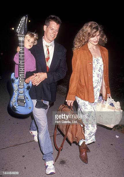 Actor Kevin Bacon wife Kyra Sedgwick and son Travis Bacon attend the Big Apple Circus Special Performance to Benefit the Scott Newman Center on...