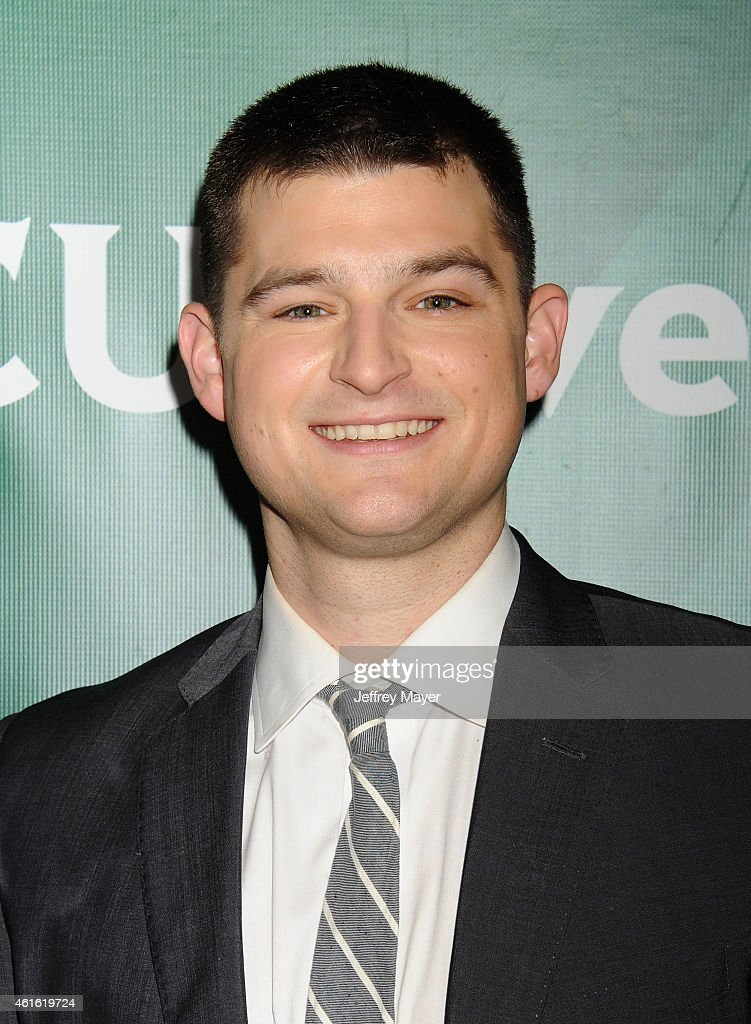 Actor Kevin Bigley attends the NBCUniversal 2015 Press Tour at the Langham Huntington Hotel on January 15, 2015 in Pasadena, California.