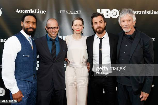 Actor Kevin Carroll, John Murphy, Damon Lindelof, Executive Producer, Co-Creator and actors Carrie Coon, Nora Durst, Justin Theroux, Kevin Garvey and...