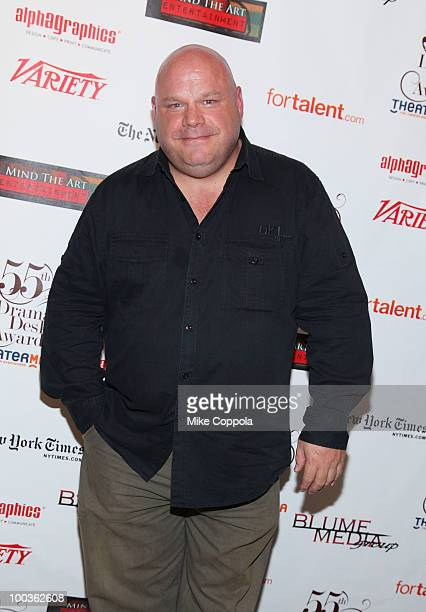Actor Kevin Chamberlin arrives at the 55th Annual Drama Desk Awards at the FH LaGuardia Concert Hall at Lincoln Center on May 23 2010 in New York City