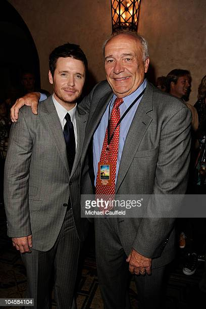 Actor Kevin Connelly and writer William Nack attend the 'Secretariat' premiere after party on September 30 2010 in Hollywood California
