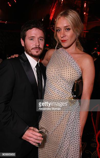 Actor Kevin Connolly and Chloe Sevigny attend HBO's post Emmy Awards reception at the Pacific Design Center on September 20, 2009 in West Hollywood,...
