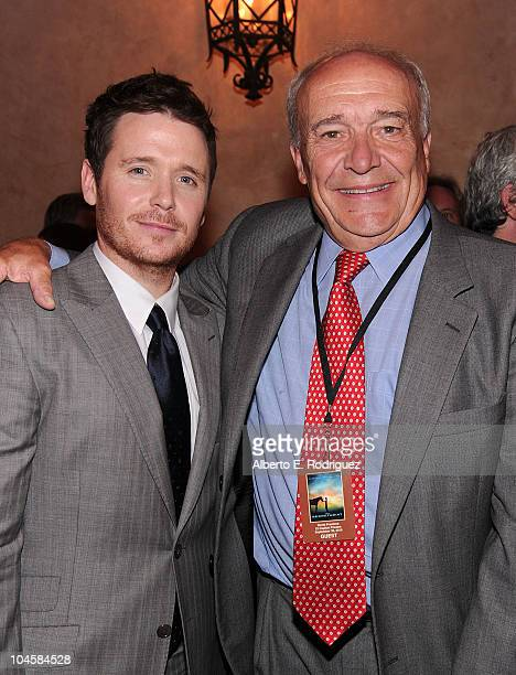 Actor Kevin Connolly and writer William Nack attend the premiere of Walt Disney Pictures' 'Secretariat' after party at the on September 30 2010 in...