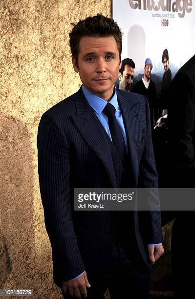 Actor Kevin Connolly arrives at HBO's Entourage Season 7 premiere held at Paramount Theater on the Paramount Studios lot on June 16 2010 in Hollywood...